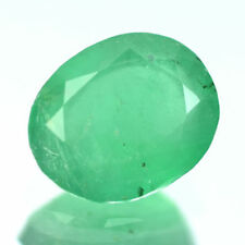 2.26 Ctw Attractive Oval Best Green Natural Colombian Emerald