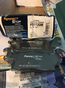 Disc Brake Pad Rear Perfect Stop PS1120M fits 06-10 Hummer H3