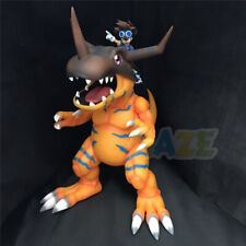 Digimon Adventure Greymon&Yagami Taichi Painted PVC Figure Model Toy No Box