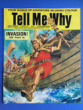 Tell Me Why - Your World Of Adventure - No.17 - December 1968 - Wonders Magazine