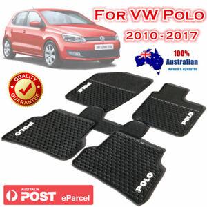 Waterproof Rubber Car Floor Mats Tailor Made for Volkswagen Polo 2010 - 2017