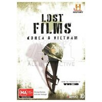 Vietnam & Korean War in HD Lost Films DVD Classic Docos Together Over 7 hrs