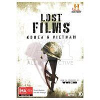 Vietnam & Korean War in HD Lost Films DVD Classic Docos Together Over 7 hrs