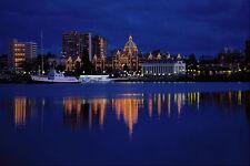 531089 Legislative Building Victoria A4 Photo Print