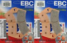 """EBC """"R"""" SERIES SINTERED METALLIC BRAKE PADS - POLARIS - 2 SETS _FA452R"""