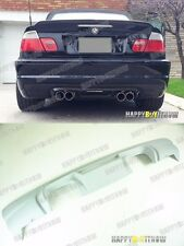 01-06 UNPAINTED PRIMED BMW E46 M3 CSL MODELS COUPE &CONVERTIBLE Rear Diffuser