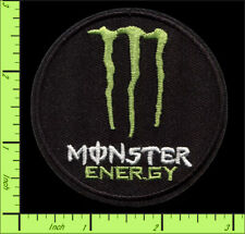 Monster Energy Drink Patch Iron On Applique Embroidered Patch Monster Energy BMX