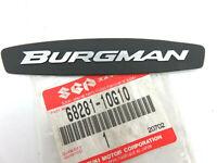nos Genuine Suzuki BURGMAN 650 EMBLEM 68281-10G10