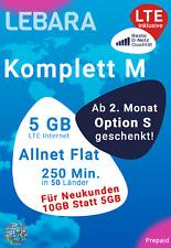 Lebara mobile Prepaid Simkarte mit 10 Euro
