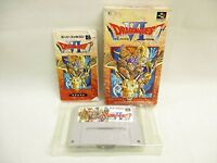 DRAGON QUEST VI 6 Super Famicom Nintendo Enix sf
