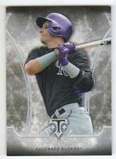 2015 Topps Triple Threads Baseball #13 Troy Tulowitzki Colorado Rockies
