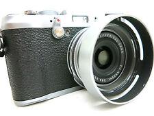 Fujifilm Finepix X100S compact digital Camera *silver *superb w. hood and case