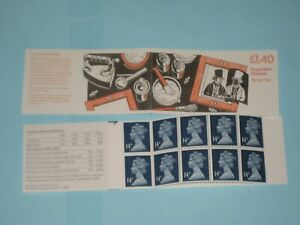 1989 FM6A  Folded £1.40 Booklet Fox Talbot's Report on the Photographic process