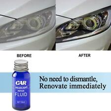 9H Car Headlight Lens Restoration Plastic Light Polish Cleaner System Repair*HOT