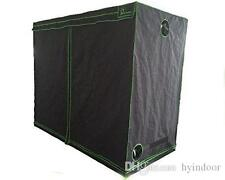 Indoor Hydroponics Greenhouse Grow Tent Room 600D Silver Mylar Kit 120x120x200