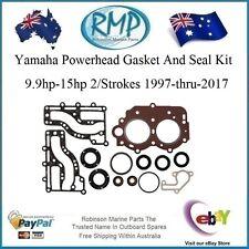 A New Yamaha Powerhead Gasket & Seal Kit 9.9-15hp 1997-2017 # R 63V-W0001-00