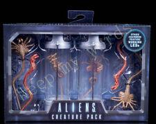 "NECA Alien Creature Pack Convenant Neomorph Egg Facehugger Set 7"" PVC New in Box"