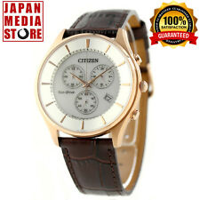 Citizen Collection AT2362-02A Eco-Drive Chrono Watch 100% Genuine JAPAN