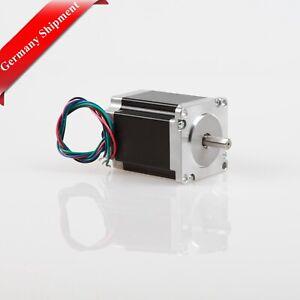 De Free 5pcs nema 23 motor PAP 23hs8442 4.2a 76mm 260oz-in φ6.35mm bipolar