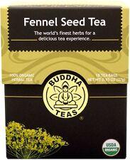 Fennel Seed Tea, Buddha Teas, 18 tea bag 1 pack