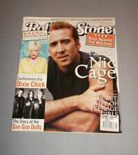 October Rolling Stone Music, Dance & Theatre Magazines
