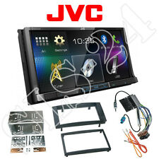 JVC doble DIN DVD USB radio diafragma VW t5 Multivan Transporter incl. adaptador
