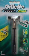 Gillette Vector Razor Handle - Holds ALL Gillette Atra Blades