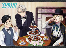 Yuri On Ice Afternoon Tea Wall Scroll Poster NEW
