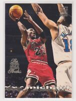 1993-94  MICHAEL JORDAN Topps Stadium Club NBA FINALS LOGO Basketball Card # 169