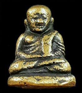 Thai Amulet-Phra LP Ngen-Wat Bangklan-Pijit-Brass-TO 59