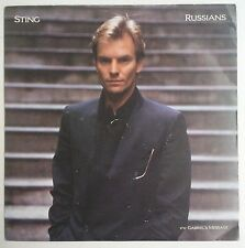 "Sting  Russians Single 7"" UK 1985"