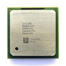 Intel pentium 4 sl6gq 2ghz/512kb/400mhz socket/socket ppga 478 Northwood pc-CPU