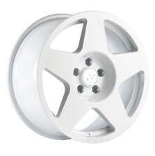 17X9 Fifteen52 Tarmac 5x100 +45 White Wheels Aggressive Fits Scion Frs 2013-2015