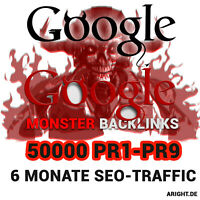 Monster Backlinks Pack - 50000 PR1-PR9 Social Media Web 2.0 Traffic SEO Google