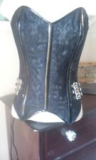 Burlesque,Steel Boned Bustier,Corset , Stunning Fancy Dress, Halloween,Whitby