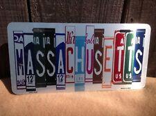 Massachusetts License Plate Art Wholesale Novelty Bar Wall Decor