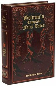 Grimm's Complete Fairy Tales (Leather-bound Classics) by Jacob Grimm New Book