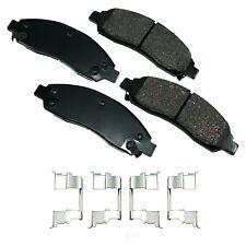 Disc Brake Pad Set-ProACT Ultra Premium Ceramic Pads Front Akebono ACT1039