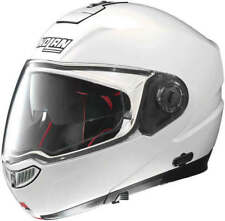 Nolan N104 Absolute 005 Bianco Lucido Casco Moto a Flip - Xx- Grande Offerta