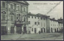 NOVARA CARPIGNANO SESIA 41 MUNICIPIO Cartolina VIAGGIATA 1930 Edizione DOLCI