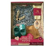 New Our Generation Retro Doll Clothes Set, Flower Power for most 18in Dolls