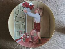 """ESCALERA'S ANNUAL CHRISTMAS SERIES PLATE """"ESPECIALLY FOR YOU"""" 1983 SIGNED"""