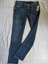 DIESEL Liv Damen Blue Jeans W28/L34 women low waist regular fit straight leg