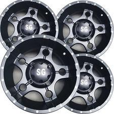 """4) 14"""" ATV Rims Wheels for Honda Pioneer 1000 Models 14x7 4/137 5+2 5-Star Matt"""