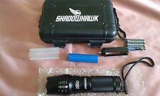 lampe de poche armé tactique Shadowhawk 2 X 800 neuve rare