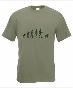 Evolution to Bichon Frise t-shirt Funny Dog T-shirt sizes Sm T0 2XXL