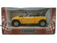 1/32 1/36 MINI COOPER S CABRIO CONVERTIBLE COCHE METAL ESCALA SCALE CAR DIECAST