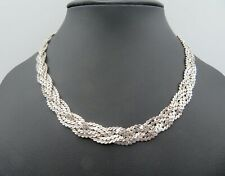 Massives Collier in Silber 835 (A147)