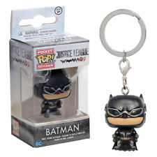 New Justice League Batman Pocket Pop Vinyl Figure Keychain DC Funko Official