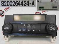 Renault Laguna 2001-2005 Heater Controls Climate Control Air Con 8200264424